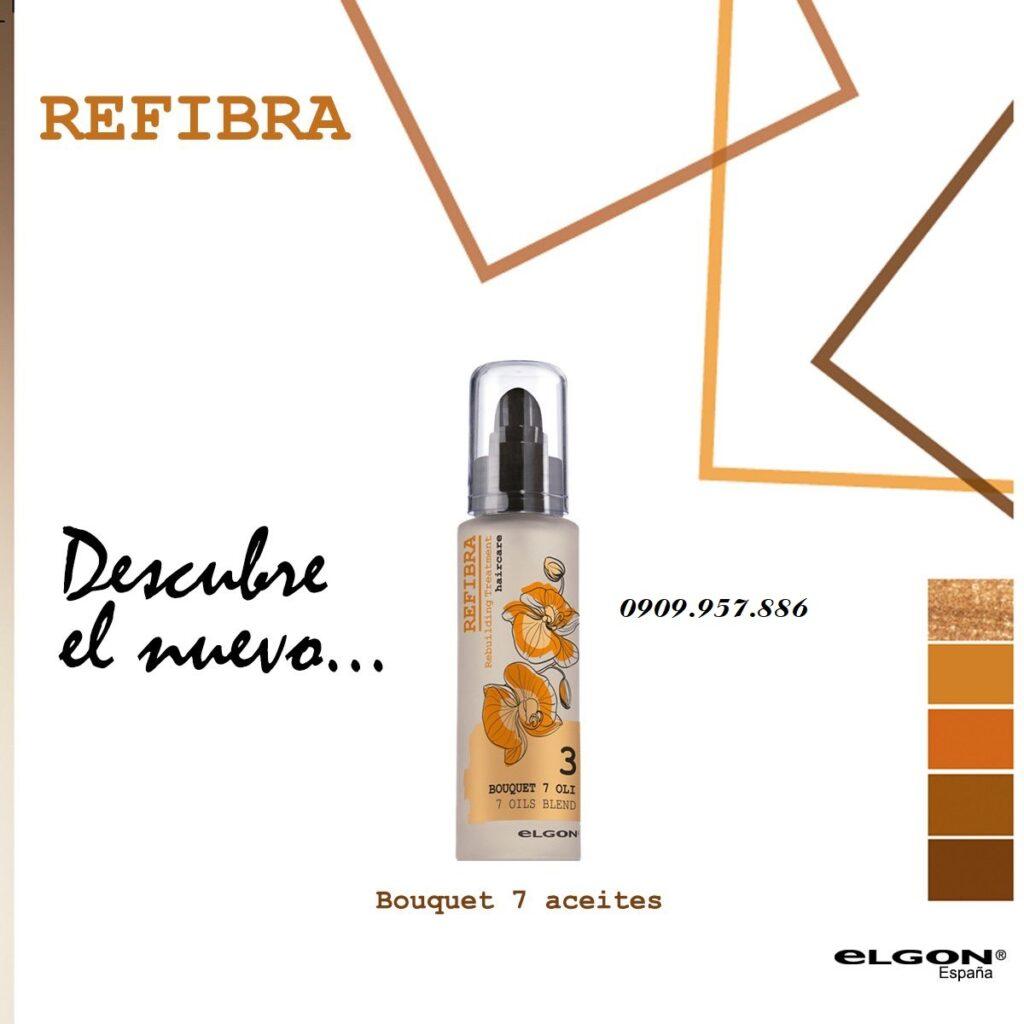 Tinh dầu dưỡng tóc REFIBRA 7 OIL cao cấp