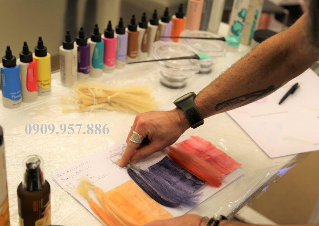 Màu nhuộm Ilight giúp tăng cường ánh sắc
