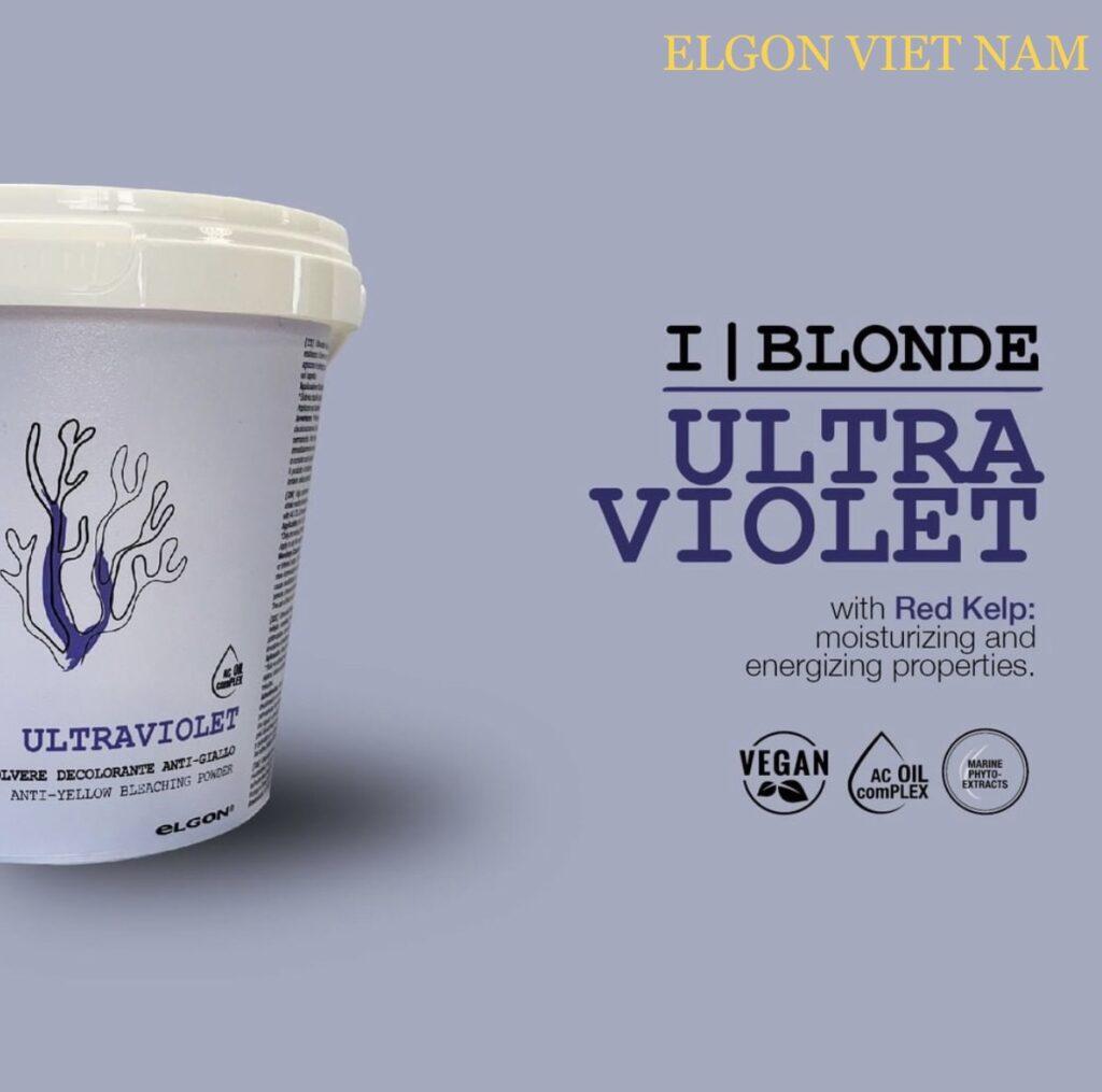 IBLONDE - Bột Tẩy Siêu Tím UltraViolet
